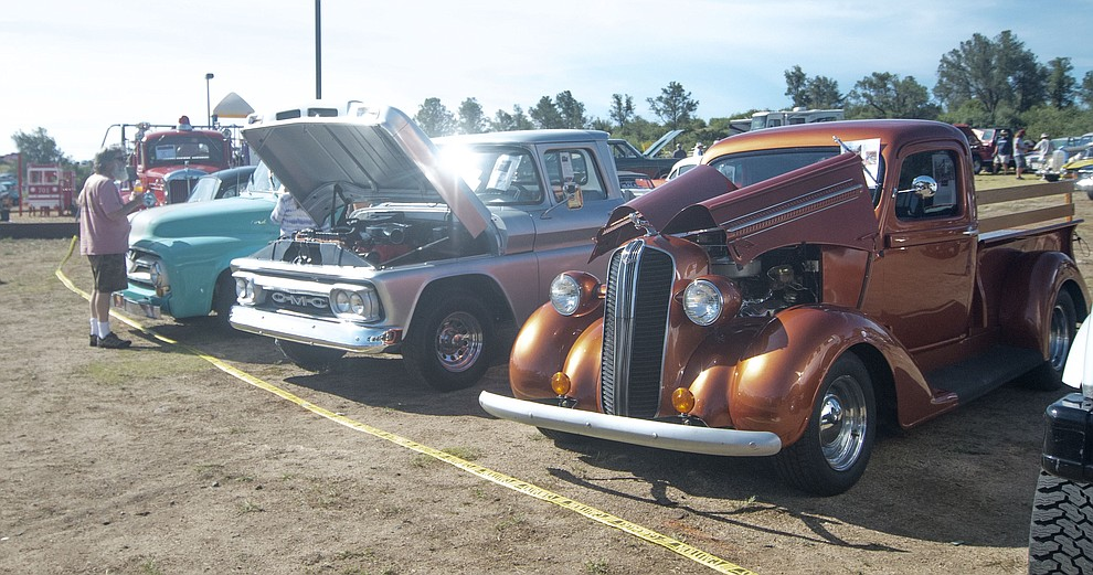 Looking for a new vintage vehicle? You might find your dream vehicle at the 45th Annual Prescott Antique Auto Club Watson Lake Car Show Saturday, August 3, 2019, in Prescott. The show continues Sunday from 8 a.m. to 3 p.m. (Les Stukenberg/Courier)