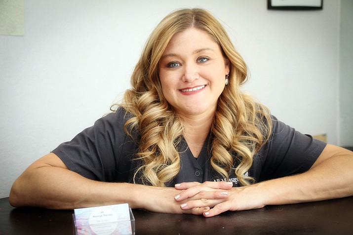 Licensed massage therapist Amber Brandt recently opened AB Massage Therapy in Camp Verde's Wingfield Plaza. Courtesy photo