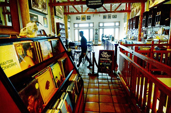 The inside of Puscifer the Store and the Four-Eight Wineworks in Jerome is where Aug. 29 listening parties will be for the new Tool album, which will be released the following day. VVN/Vyto Starinskas