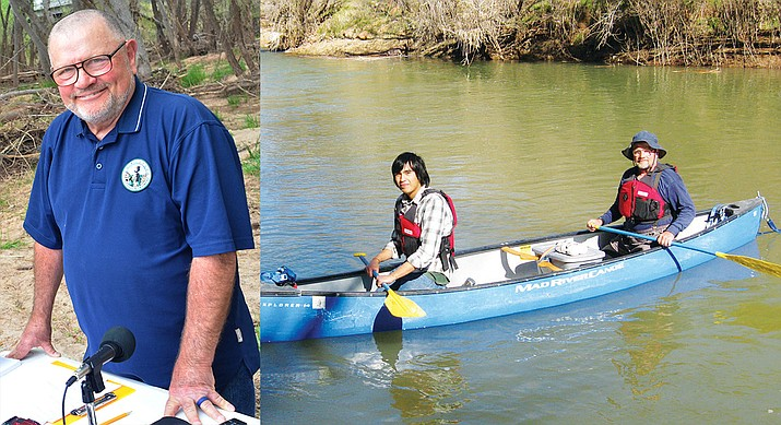 "John Parsons: ""Verde River Day has thrived for 30 years primarily because people have a need to know more about the river and some folks specifically really want to show that they care about the river."" VVN photo"