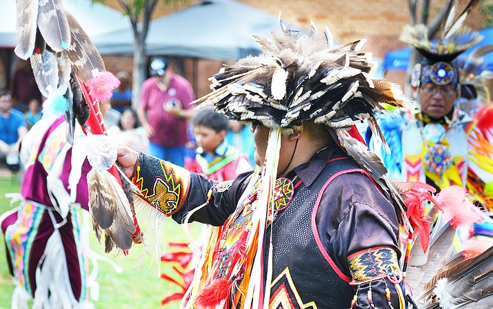 The community of Winslow celebrates the contributions of the Laguna Tribe at a festival July 26-27. (Todd Roth/NHO)