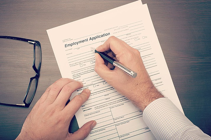 It's rare to find an employer that will take a paper application, as most want you fill them out online. (Adobe Images)