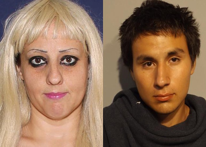 Jennifer Martin (left) and Daniel Machado (right) are wanted for burglary. (Photo/Navajo County Sheriff's Office)