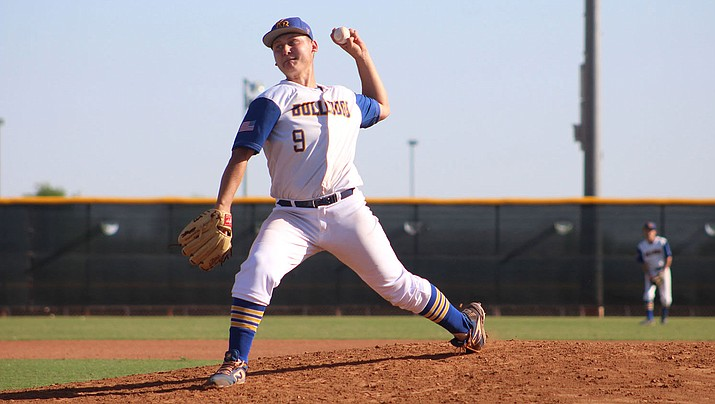 Rilee Araya put up solid numbers during his senior year with the Bulldogs, highlighted by 92 strikeouts and a 1.29 ERA in 54 1/3 innings of work. (Daily Miner file photo)