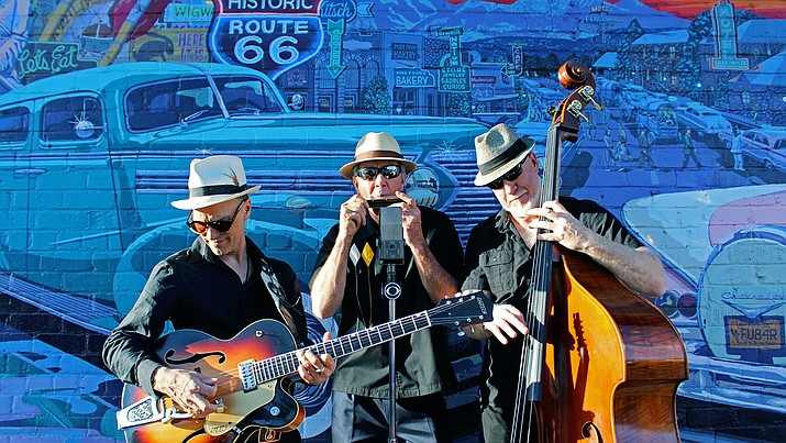 Friday, Aug. 16, the Motown, Blues and Rock & Roll band Mother Road Trio will be on stage from 7-10 p.m. at Sound Bites Grill in Sedona.