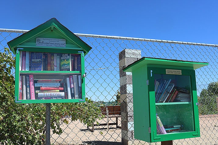 Both the children and adult libraries at the gardens are quite popular, so much so that more books are needed. (Photo by Travis Rains/Daily Miner)