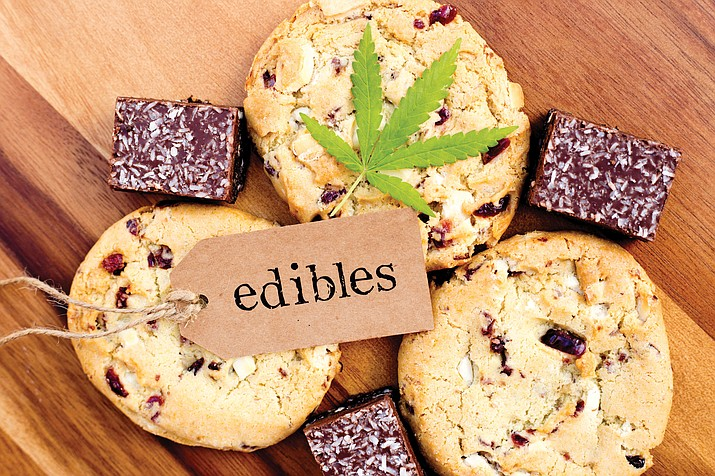 A claim by organizers of an initiative to legalize recreational marijuana for adults that it would limit the dosage of THC in edible products is false.(Courier stock image)