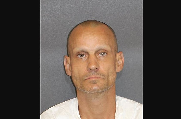 Travers Wesley Proulx has been accused of stabbing his mother to death. (Mohave County Sheriff's Office photo)