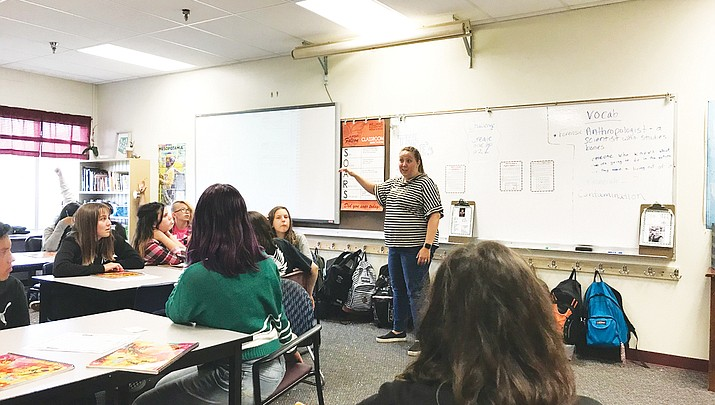 WEMS students get a lesson in forensics