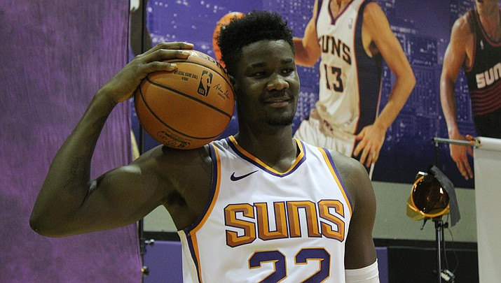 Deandre Ayton and the Suns open the 2019-20 season Wednesday, Oct. 23 at home against the Sacramento Kings. (Daily Miner file photo)