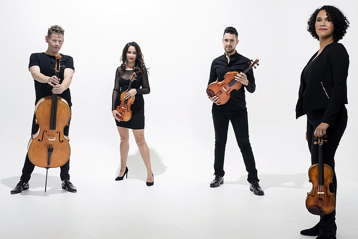 The Grammy-winning Catalyst Quartet, annual favorites at the Grand Canyon Music Festival, will perform works from Florence B. Price August 31. (Photo/Grand Canyon Music Festival)