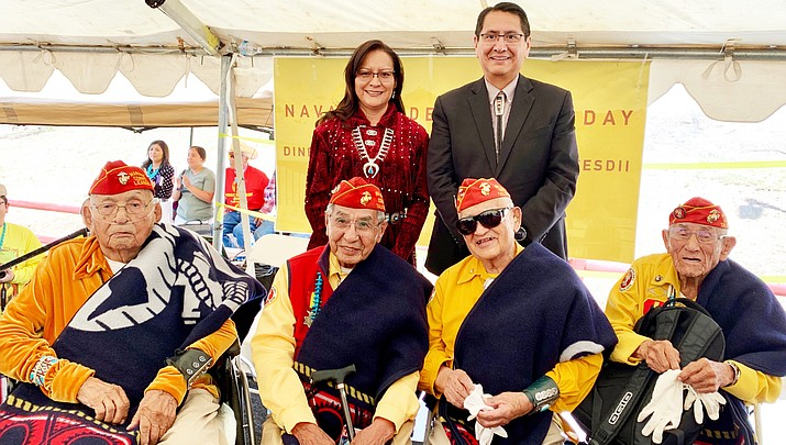 Navajo Nation pays tribute to Diné warriors on Navajo Code Talker Day