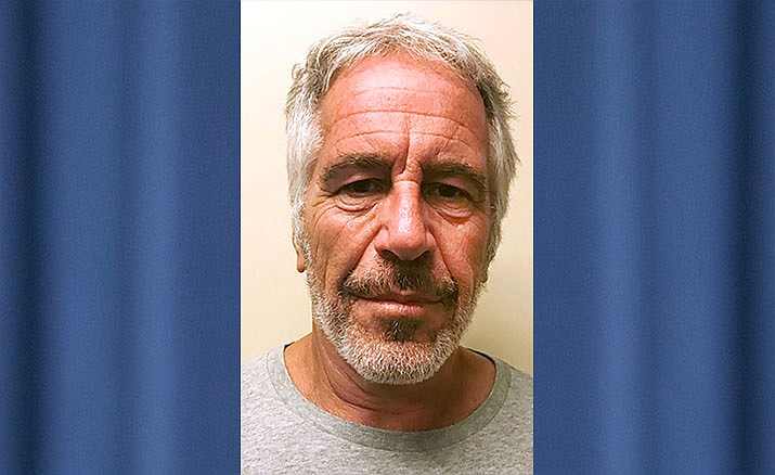 This March 28, 2017, file photo, provided by the New York State Sex Offender Registry shows Jeffrey Epstein. New York City's medical examiner has ruled Epstein's death a suicide. The medical examiner's office said in a statement Friday, Aug. 16, 2019, that an autopsy and other evidence confirms the 66-year-old financier hanged himself in his cell at a federal jail. (New York State Sex Offender Registry via AP, File)