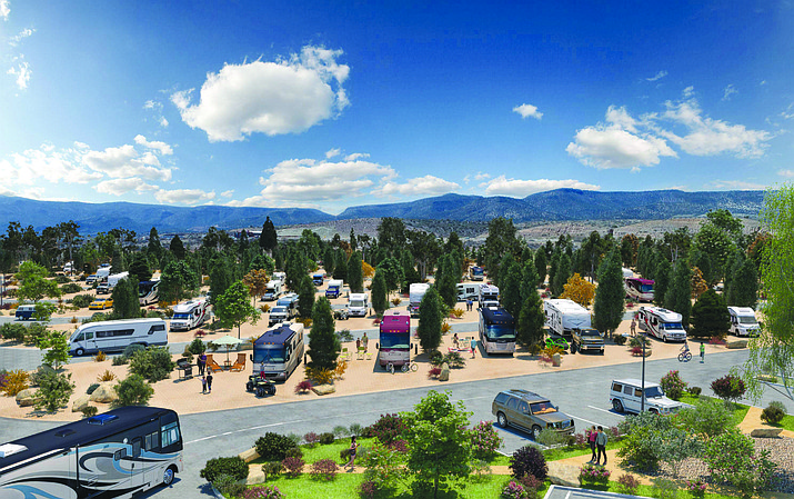 Verde Ranch RV Resort opened to the public Wednesday with a daylong open house. VVN/Bill Helm