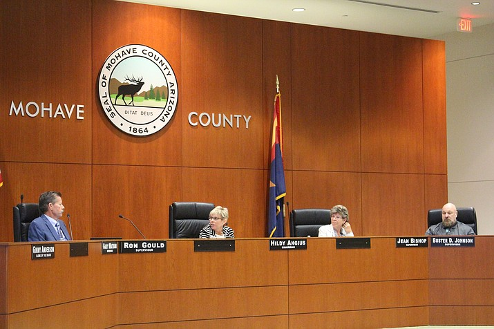 Mohave County Board of Supervisors will consider approving services contracts at its meeting Monday morning in the County Administrative Building, 700 W. Beale St. (Photo by Agata Popeda/Daily Miner)
