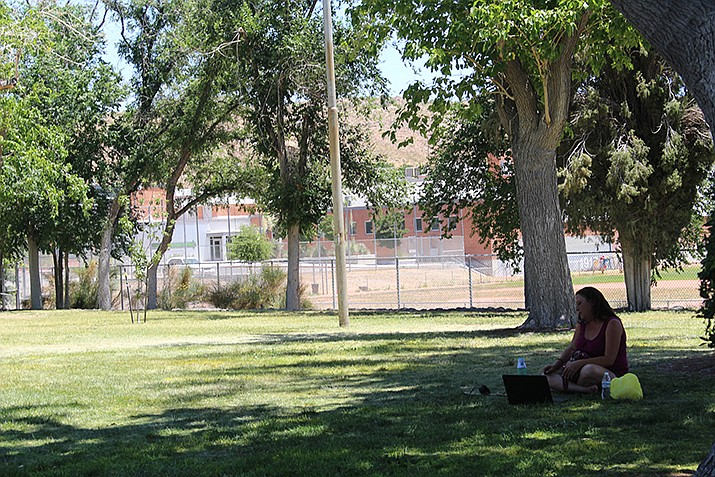 Residents will want to seek out the shade, or stay indoors during the day, this week as temperatures climb above 100 degrees. The National Weather Service has issued an excessive heath warning for Kingman for three days starting Tuesday, Aug. 20. (Daily Miner file photo)