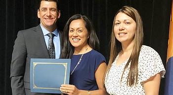 Lake Valley Elementary receives grant for 'Sensory Walk' photo