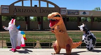 Arizona Downs to host costume race Saturday to benefit charity photo