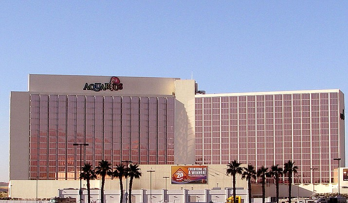 Las Vegas Metropolitan Police Department received reports that a male subject had fired shots at a security guard at the Aquarius Casino in Laughlin, Nevada at around 1:26 a.m. Monday, Aug. 19. (File courtesy photo)