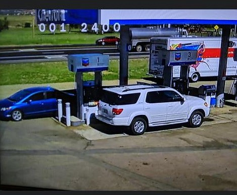 Authorities seeking man who allegedly flashed woman at gas station in Dewey