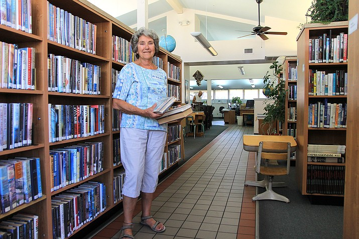 Andrea Dunn is set to retire after 30 years as the head librarian at Williams Public Library. (Wendy Howell/WGCN)