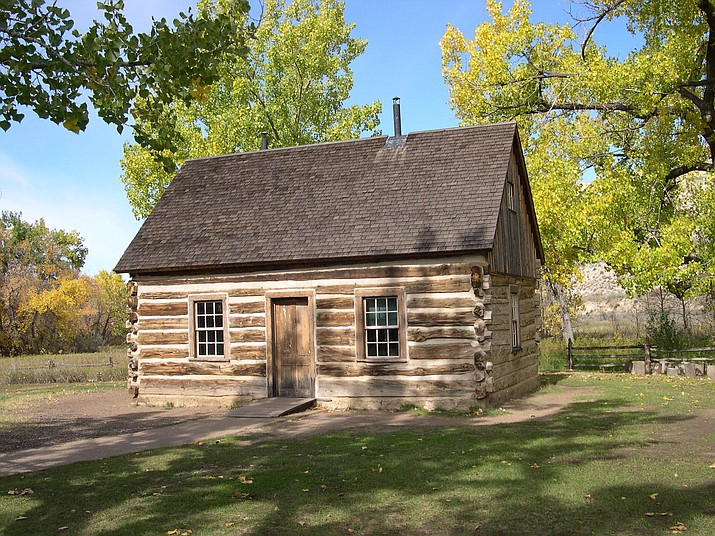 Former President Theodore Roosevelt's Maltese Cross cabin in the North Dakota badlands sits within his namesake national park. (Photo/NPS)