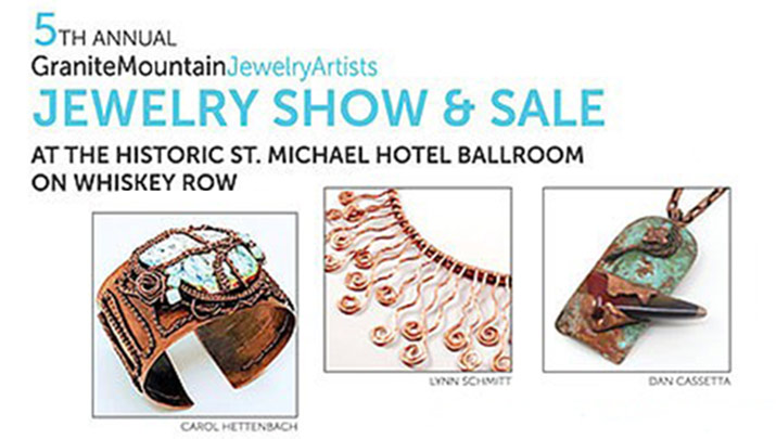 Support local artists at the Granite Mountain Jewelry Show & Sale, Aug. 23-24