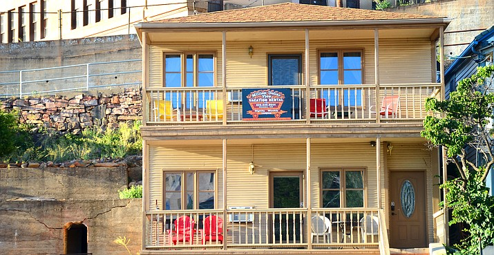 The Million Dollar View Vacation Rental No. 2 is located on Main Street in Jerome. VVN/Vyto Starinskas