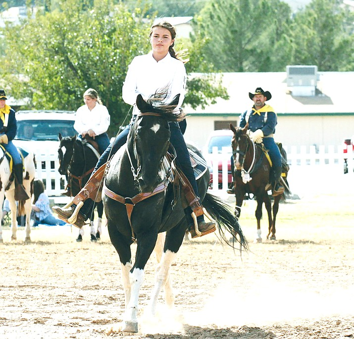 Last year, Shayla Hawkins won the 58th annual Colonel's Daughter competition. This year's annual Colonel's Daughter competition will take place at 2 p.m. Sunday, Sept. 29 at the Fort Verde Parade Grounds. VVN/Bill Helm