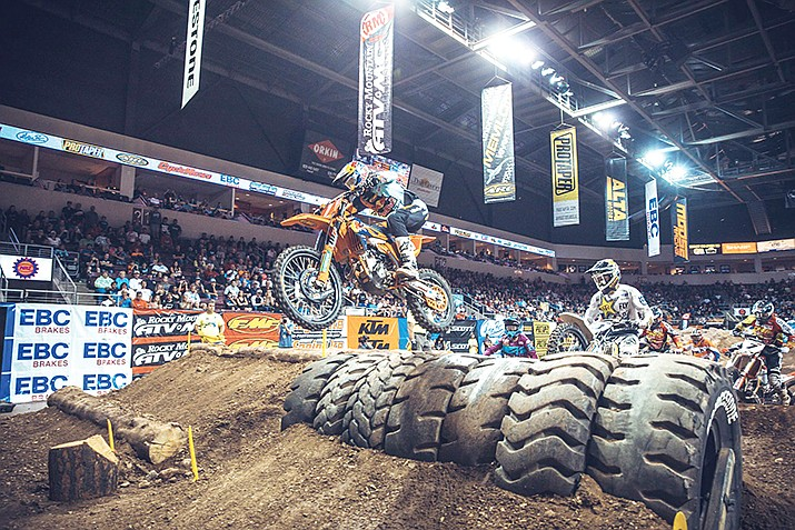 EnduroX Extreme Off-Road Racing, 7:30 p.m., Aug. 24 at Findlay Toyota Center. 3201 N. Main St., Prescott Valley. Tickets start at $19, available online at www.ticketmaster.com, by calling 928-772-1819 ext. 6060 or at the door.