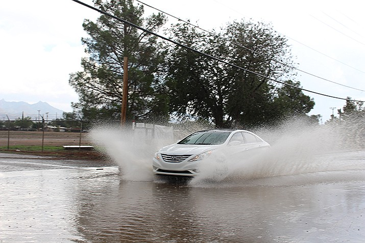 While no precipitation is forecast for the week to come, at least for now, September could see the return of stormy skies to Kingman. (Daily Miner file photo)