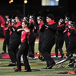 Bradshaw Mountain Band performs at halftime as the Bears host Estrella Foothills in their 2019 football home opener Friday, Aug. 23, 2019, in Prescott Valley. (Les Stukenberg/Courier)