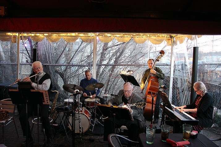 Prescott Jazz on the Square with the Goodwin Street Gang, Prescott Summer Concert Series. (Courtesy)
