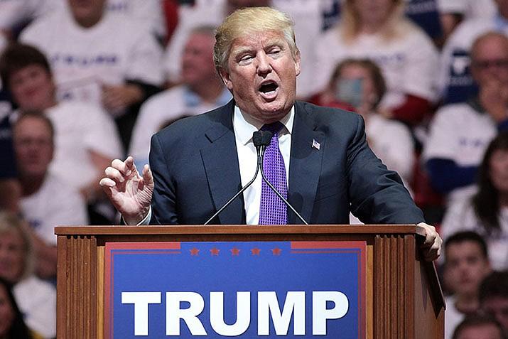 U.S. President Donald Trump announced he is raising retaliatoruy tariffs onChines goods. (Gage Skidmore/Public Domain)