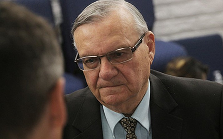 Former Maricopa County Sheriff Joe Arapaio has announced he will once again seek the seat that he lost several years ago. (Photo by Howard Fischer/Capitol Media Services)