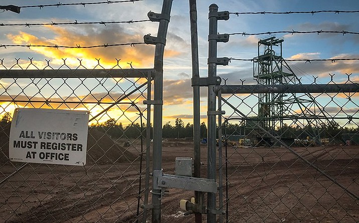 Energy Fuels Inc.'s Canyon Mine is located less than 10 miles from the gates of Grand Canyon National Park. The mine's groundwater permit is set to expire Aug. 31 unless renewed by the Arizona Department of Environmental Quality. (Chris Cadeau/Cronkite News)