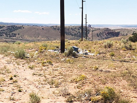 The Navajo Nation is working on a plan to establish a landfill for solid waste in order to promote illegal dumping on the reservation. (Photo/Office of the President and Vice President)