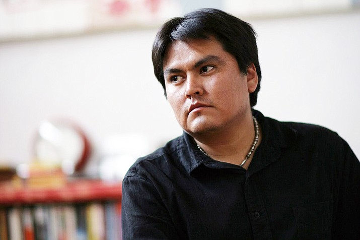 Sherwin Bitsui was recently welcomed as a new creative writing faculty member at Northern Arizona University. He will be featured at the Northern Arizona Book Festival Sept. 9 in Flagstaff. (Photo/Northern Arizona Book Festival)