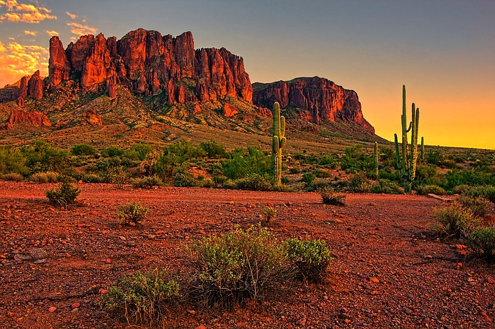 A group of visiting hikers had to be rescued from a metro Phoenix trail after some group members experienced heat-related illness. (Stock photo)