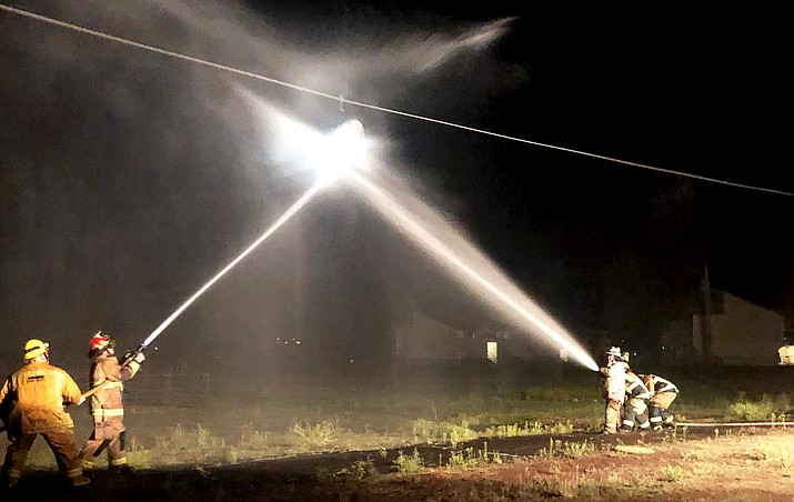 Williams Volunteer Fire Department training takes place every second Wednesday of the month. (Photo/Williams Volunteer Fire Department)