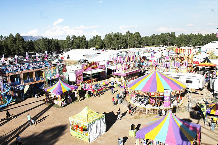 The 70th annual Coconino County Fair takes place Aug. 30 – Sept. 2 at Fort Tuthill County Park in Flagstaff. (Photo/WGCN)