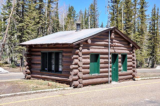 The North Rim Entrance Station. (Photo/NPS)