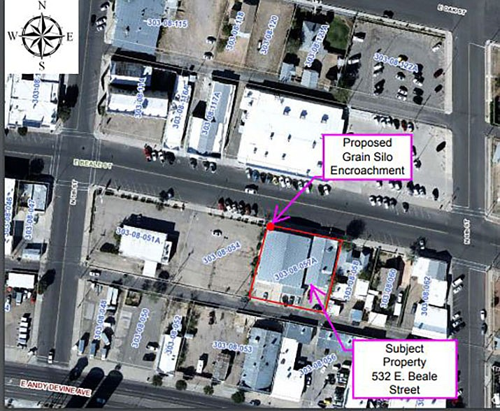 Council Holds Public Hearing On Downtown Encroachment Permit