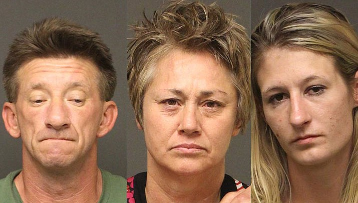 Mohave County Sheriff's Office and Kingman Police Department reported the following arrests for the week of Aug. 30:
