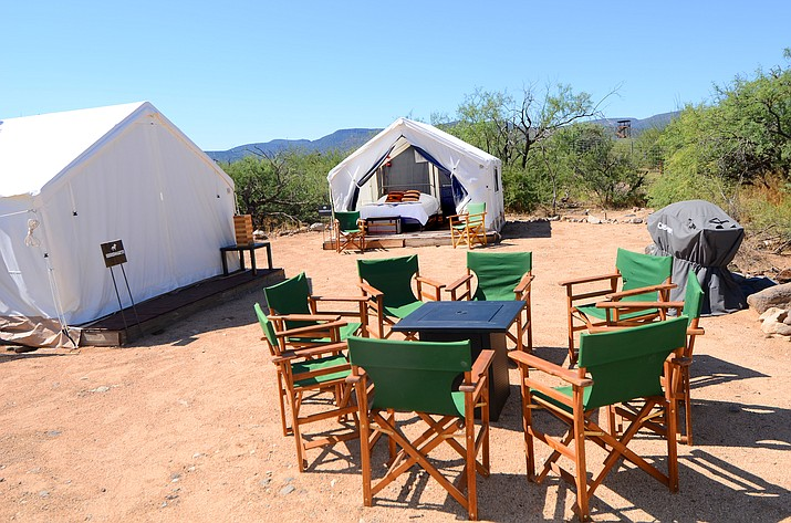 A national luxury camping company has partnered with Out of Africa to establish an exotic camping experience inside the popular animal park. VVN photo/ VYTO STARINSKAS