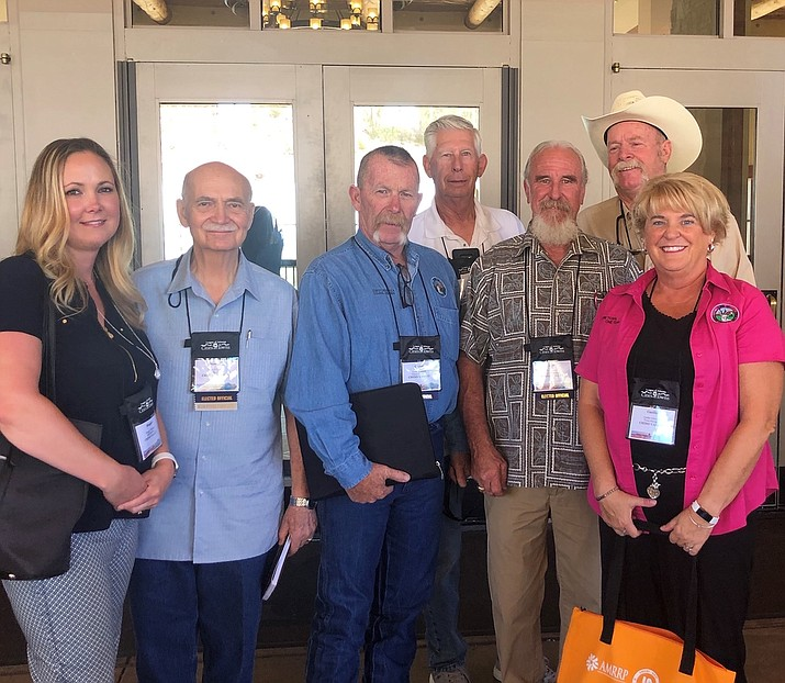 Attendees of the 2019 League of Arizona Cities and Towns annual conference, held Aug. 20-23 in Tucson, were from left: Maggie Tidaback (Economic Development manager) Mayor Darryl Croft, Council Members Corey Mendoza, Mike Best, Lon Turner, Jack Miller, and Town Manager Cecilia Grittman. (Courtesy)