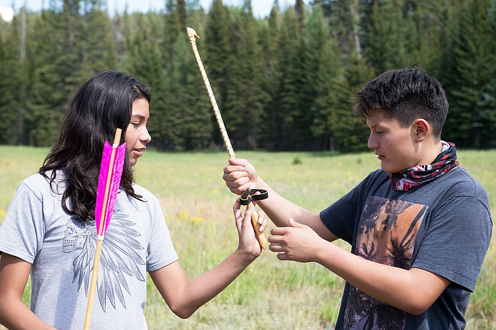 Learning stations included wildlife biology, archaeology, wilderness survival, hydrology, astronomy, ethnobotany and fire ecology with emphases on native language, traditional use, education and career paths. (Photo/Dixie National Forest)