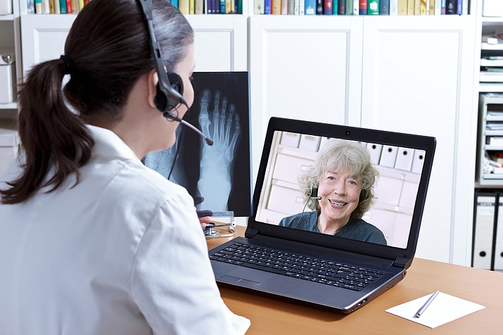 Daily behavioral health telemedicine appointments are available at North Country HealthCare's Grand Canyon Clinic. The organization is looking at bring a staff member to the Canyon if community interest is high enough. (Stock photo)