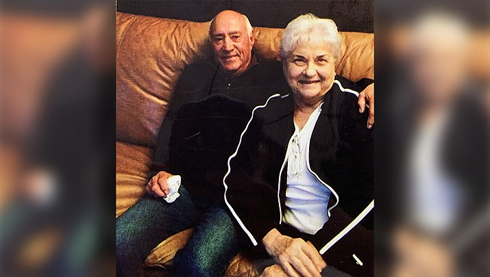 Bob and Patricia Olivas of Kingman celebrated their 60th wedding anniversary on Aug. 29. (Courtesy photo)