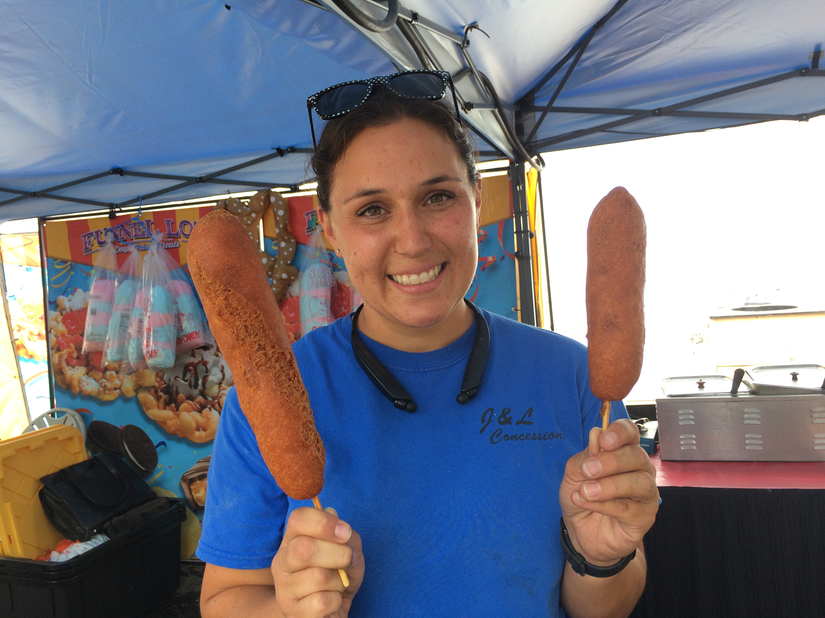 Tempting treats — on and off sticks — are part of Yavapai County Fair fun